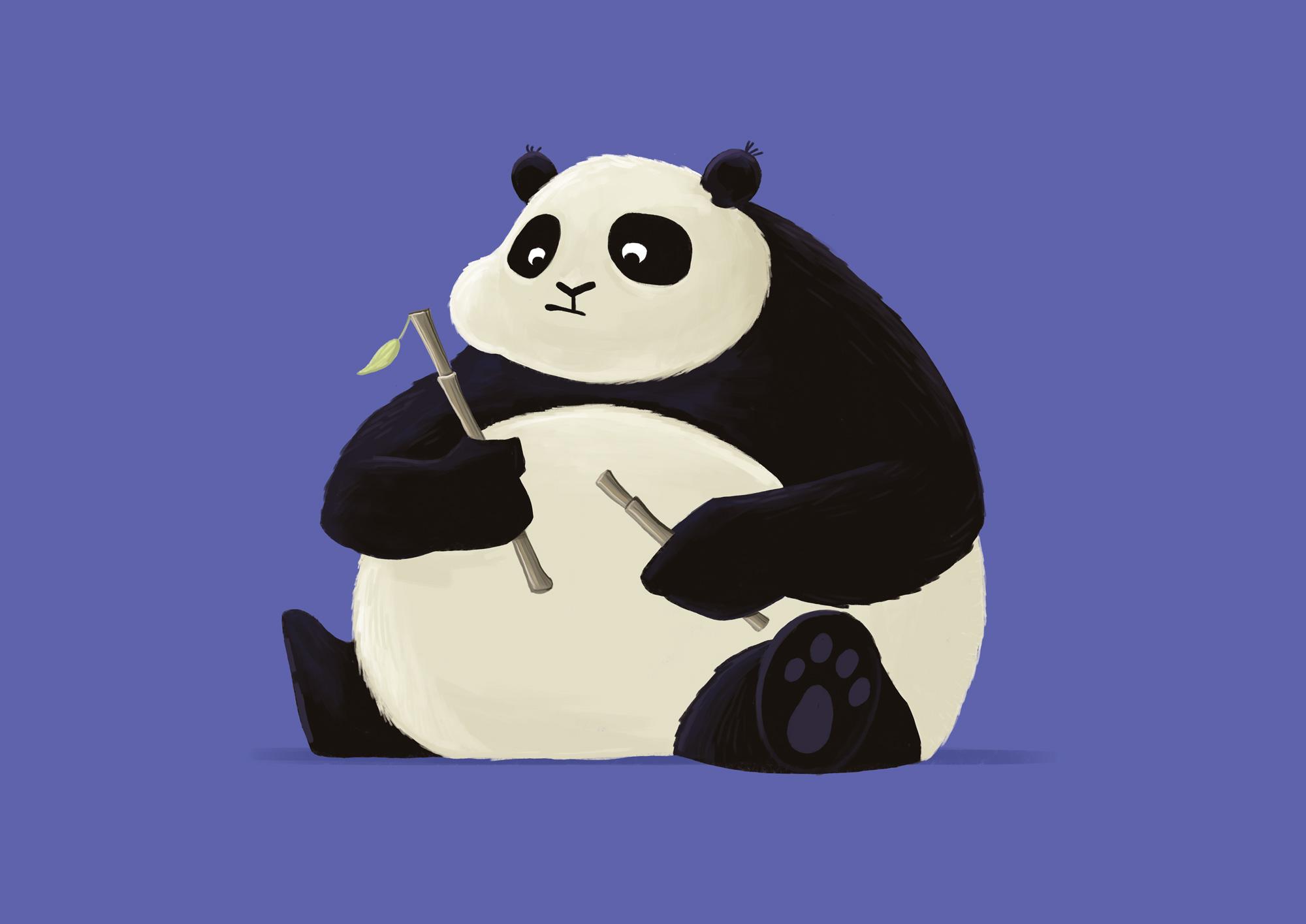 Panda by Wouter Pasman